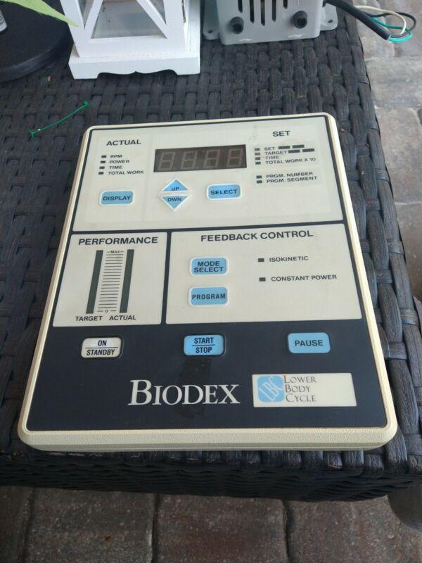Biodex LBC Feedback Control