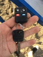 Ford key found at scenic heights park