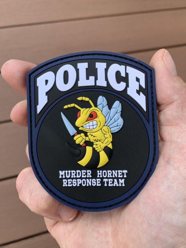 Nypd Style Police Morale Patch Murder Hornets