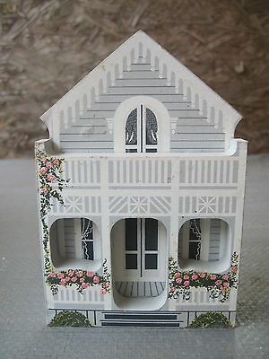 1993 Gingerbread Cottage in Oak Bluffs, Maine..Shelia 3D Wood House..Retired