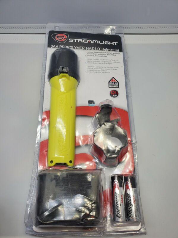 Streamlight 68270 3AA ProPolymer 120-Lumen HAZ-LO Helmet Lighting Kit, Yellow
