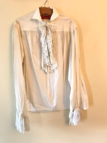 VINTAGE  FRENCH MENS FANCY SHIRT FROM THEATRICAL CLOTHING  IN PARIS