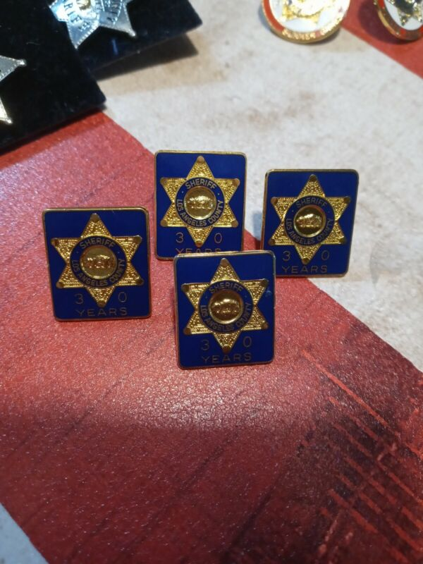 Los Angeles County Sheriff 30 Years Pin