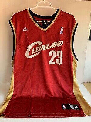 LeBron James #23 Cleveland Cavaliers Adidas NBA Jersey Adult L