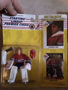 Starting lineup NHL figures.