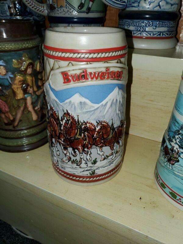1985 Budweiser Holiday Stein