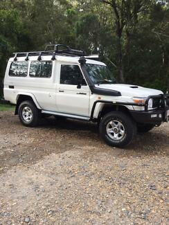 2011 Toyota Landcruiser Workmate Troopcarrier Manual 4x4