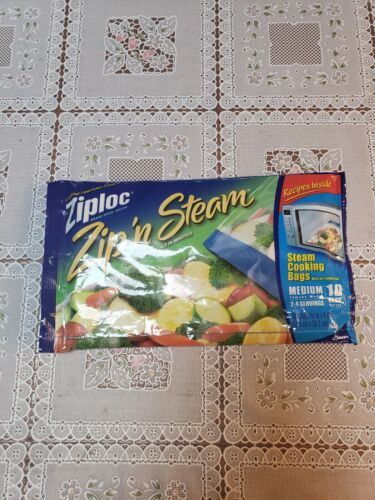 Steaming Bags Steam Cooking Microwave Oven Cook Food Meat Ve