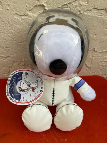 "HALLMARK SNOOPY ASTRONAUT NASA SPACE SUIT 11"" PLUSH 50TH ANNIVERSARY"