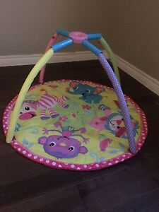 Baby girl play mat gym