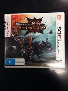 New Nintendo 3DS Console Monster Hunter Limited Edition Blue
