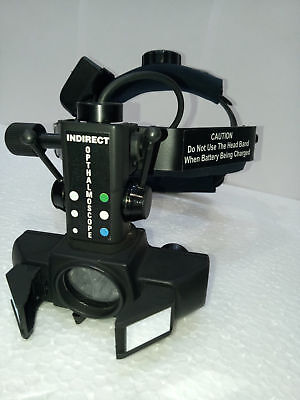 Free Shipping Binocular Wireless Led Indirect Ophthalmoscope With Accessories