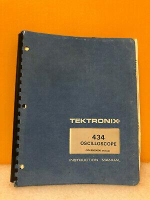 Tektronix 070-1915-00 434 Oscilloscope Instruction Manual