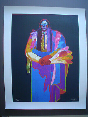 """JOHN NIETO - """"Quanah Parker"""" - On Canvas - Signed & Numbered - With COA for sale  Falls Church"""