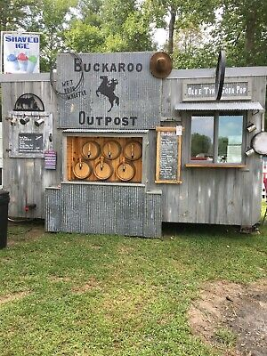 Used Food Concession Trailer For Sale
