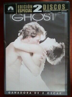 DVD GHOST MAS ALLA DEL AMOR - EDICION ESPECIAL 2 DVDS -...