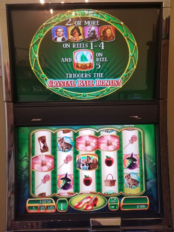 WMS WIZARD OF OZ RUBY SLIPPERS BB2 SLOT GAME SOFTWARE ONLY WILLIAMS BLUEBIRD BB2