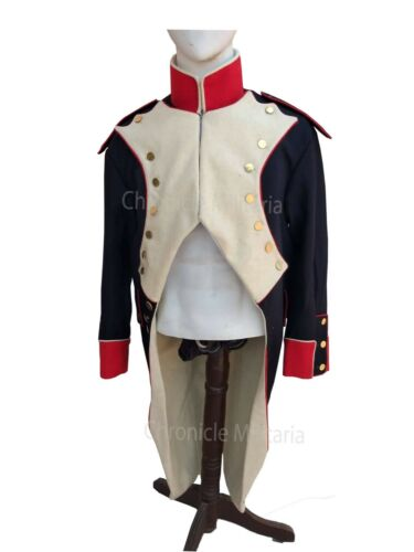 Napoleonic Infantry artillery jacket, French reproduction uniforms