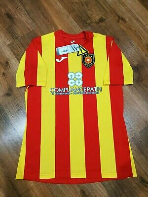 Albion Rovers football jersey home shirt 2020-2021 size L image