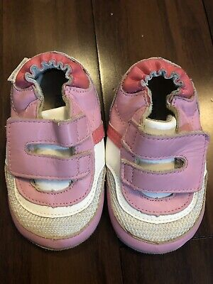 Robeez Baby Girl Shoe Pink - Size 3 (6-9 Months)