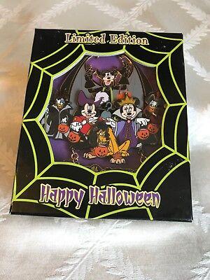 Disney's Mickey and Friends Happy Halloween Limited Edition 2006 - RARE](Mickey And Friends Happy Halloween)
