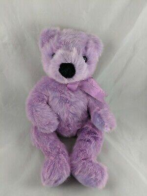 Ty Purple Bear Plush 13