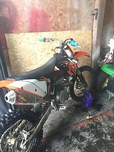 2009 ktm 450sxf  11h on engine