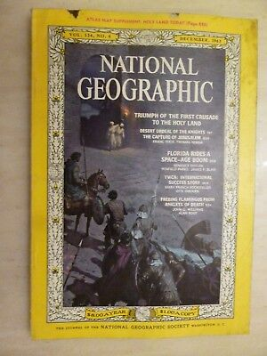 National Geographic- CRUSADER ROAD TO JERUSALEM - DECEMBER 1963