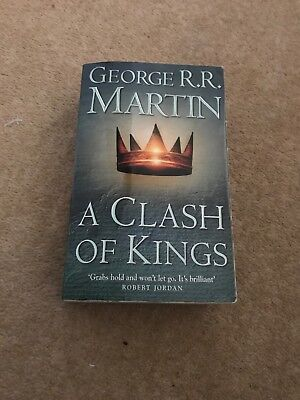 Game Of Thrones Book A Clash Of Kings, used for sale  Leeds