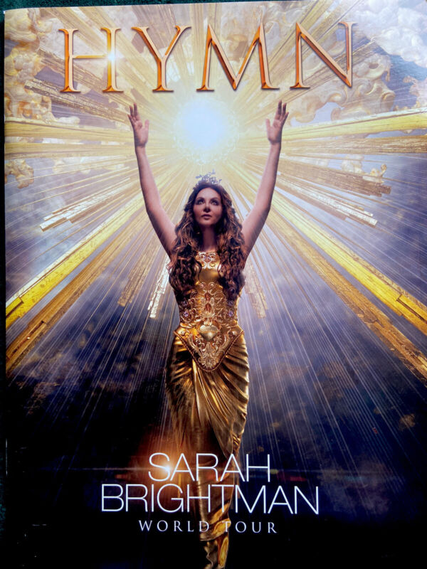 Sarah Brightman Souvenir Program Hymn Tour 2019 New