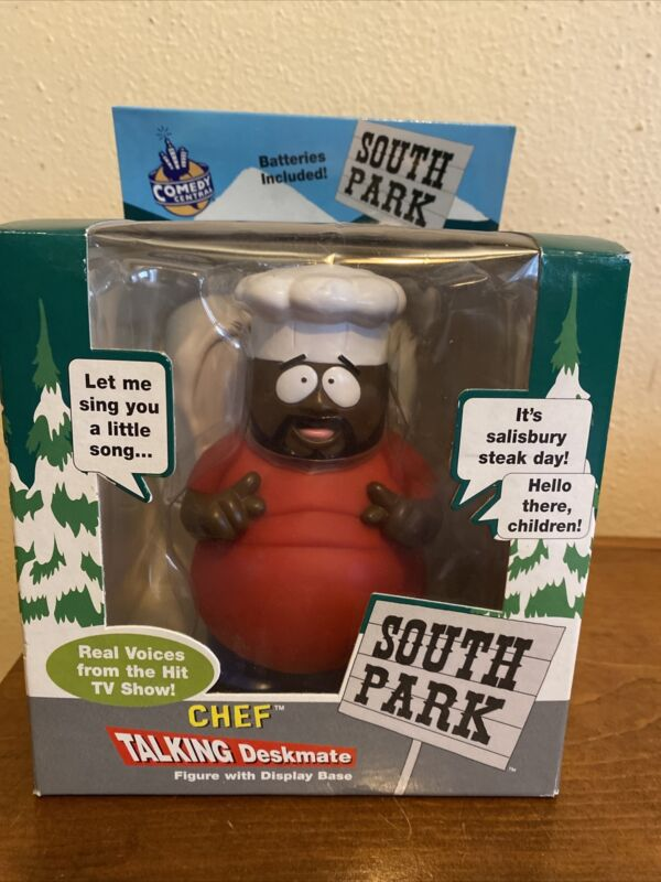 South Park Talking Deskmate CHEF  1998 - Comedy Central - New