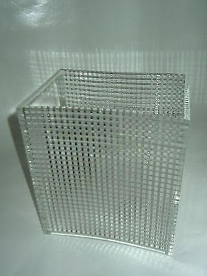 Kultige Plexiglas Vase-Designer Vase-70's Design