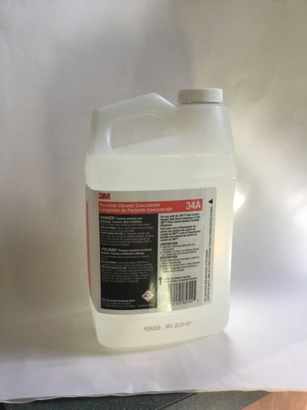 3M 34A Peroxide Cleaner concentrate