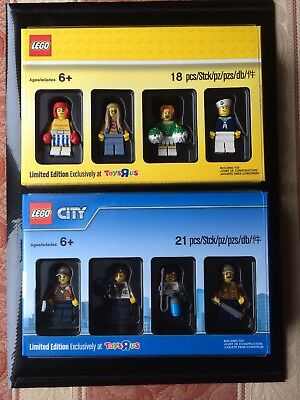 LIMITED EDITION - Lego 5004940 & 5004941 Exclusive Toys R Us Minifigure Packs