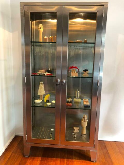 Vintage Display Cabinet Cabinets Gumtree Australia