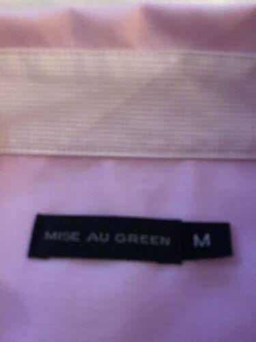 Magnifique chemise à manches longues mise au green  taille m rose