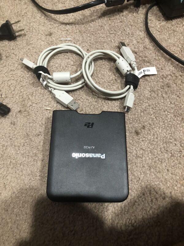 Panasonic AJ-PCD2G P2 Memory Card Reader USB 2.0 AJ-PCD2 G