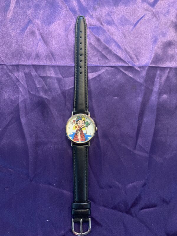 Rare 1995 Tali Betty Boop Watch, New Band And Battery