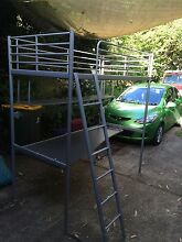 IKEA loft bed with desk Waitara Hornsby Area Preview