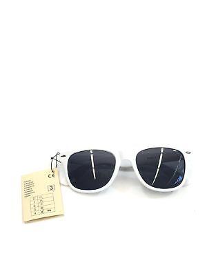 Sion Kölsch Sonnenbrille Nerd style weiß – UV400 Klasse 3