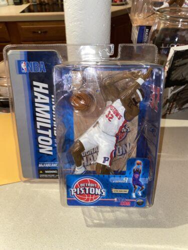 McFarlane 2005 Richard Hamilton Detroit Pistons NBA Series 9 White Variant NM  - $29.99
