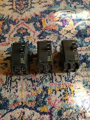 Square D Qo 40 Amp Two Pole 2pole Circuit Breaker - Qo240