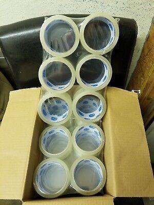 36 Rolls 2 55 Yards 45 Mic Carton Sealing Clear Packing Shipping Box Tape