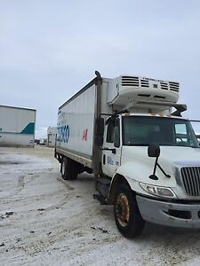 2007 International 4300 Reffer Van