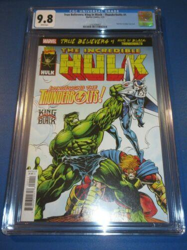 Incredible Hulk #449 True Believers Reprint 1st Thunderbolts CGC 9.8 NM/M Gem