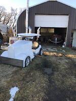 Mini semi golf cart