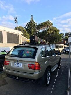 BMW X5 and Mazda bravo 6 wheeler ute Swap dual cab ute