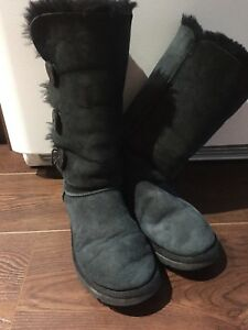Authentic UGG black tall boots