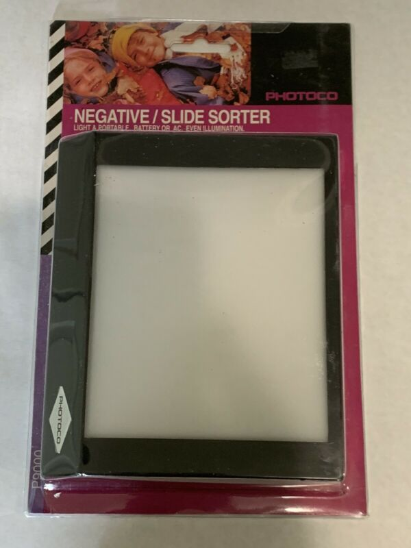 New Photoco Negative Slide Sorter P9000 Miniature Light Table