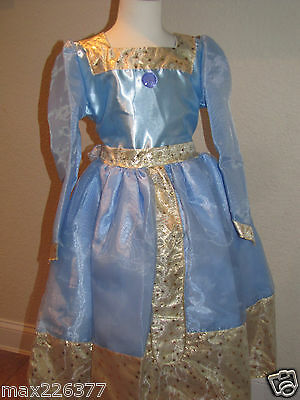 NEW NEW girl princess boutique dress up costume MERIDA BRAVE inspired size - Teen Merida Costume